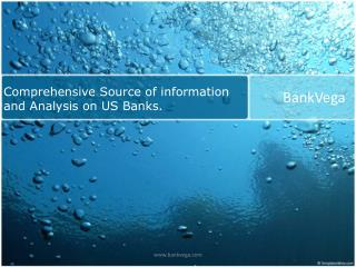 us banks financial analysis and services