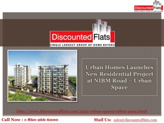 Urban Space – New Residential Project By Urban Homes