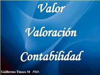 Guillermo Tinoco M.. PhD.