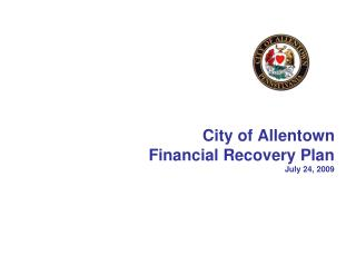 City of Allentown Financial Recovery Plan