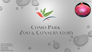 Como Zoo Group Presentation - Draft #2