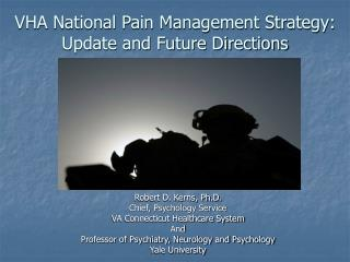 VHA National Pain Management Strategy: Update and Future Directions