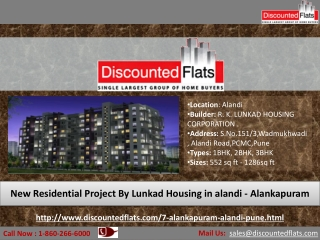 Best Offers are available on 2BHK Flats - Alankapuram