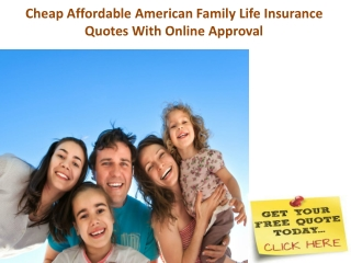 Cheap Family Life Insurance Quotes With Online Guaranteed Ap