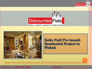 Luxurious 2BHK Apartments for Sale in Wakad