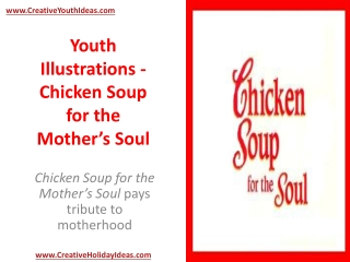 Youth Illustrations - Chicken Soup for the Mother's Soul