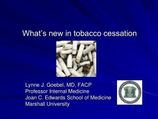 What s new in tobacco cessation
