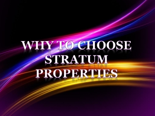 What are the Things You Need to Know with Stratum