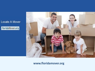 Best Moving Companies in Florida with Moving Expense Estimate
