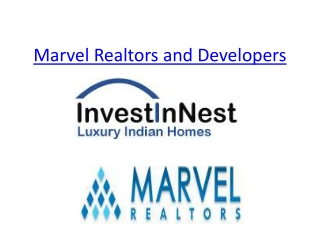 Marvel Realtors and Developers