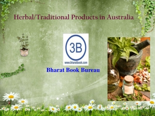 Herbal/Traditional Products in Australia