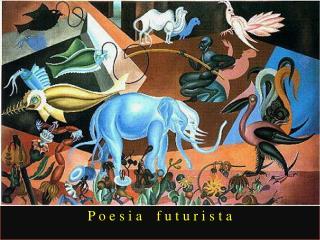 Poesia futurista