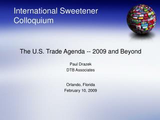 International Sweetener Colloquium