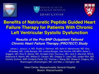 Benefits of Natriuretic Peptide Guided Heart Failure Therapy for Patients With Chronic Left Ventricular Systolic Dysfunc