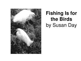 Fishing Is for the Birds by Susan Day