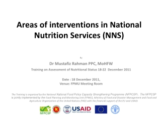 Supporting good maternal nutrition and infant feeding practice