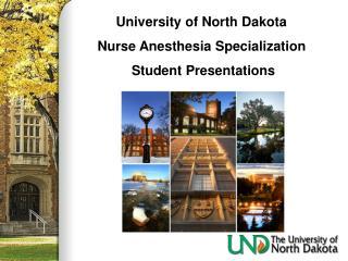 UND Student Presentations - PowerPoint Presentation