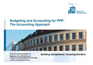 Budgeting and Accounting for PPP:  The Accounting Approach