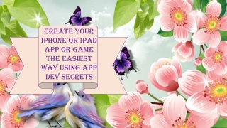 Create Your iPhone or iPad App or Game the Easiest Way Using