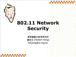 802.11 Network Security