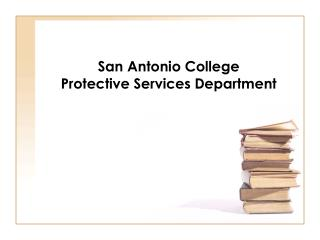 San Antonio College Protective Services Department