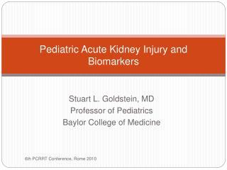 Pediatric Acute Kidney Injury and Biomarkers