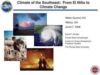 Climate of the Southeast: From El Ni