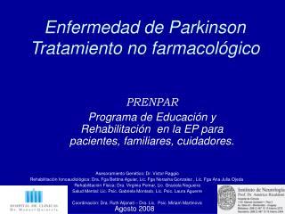 Enfermedad de Parkinson Tratamiento no farmacol gico