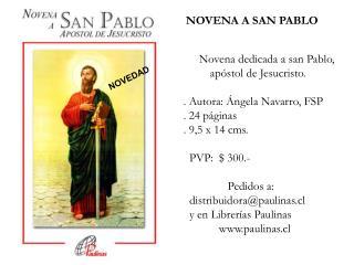 NOVENA A SAN PABLO