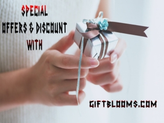 Special Discount Offer At Giftblooms.com