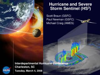 Hurricane and Severe Storm Sentinel HS3