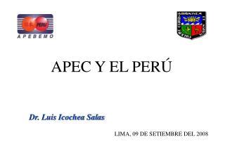 APEC y el Per