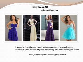 Perfect Prom Dress Provided On KissyDress Online Store