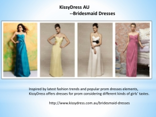 Beautiful Bridesmaid Dresses Offored By KissyDress