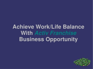 Active Franchise |  Active Web Design Franchise