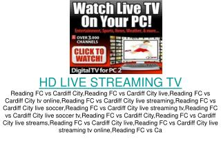 reading fc vs cardiff city live hd direct tv online streamin