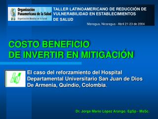 COSTO BENEFICIO DE INVERTIR EN MITIGACI