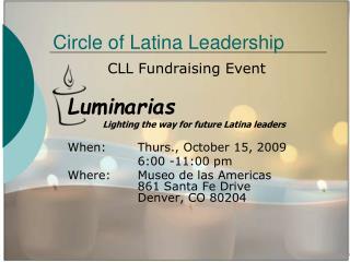 Circle of Latina Leadership