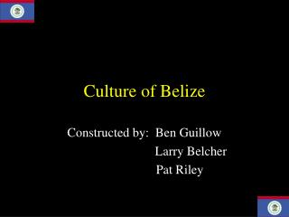 Culture of Belize