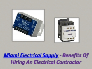 Miami Electrical Supply