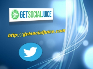 Get Social Juice