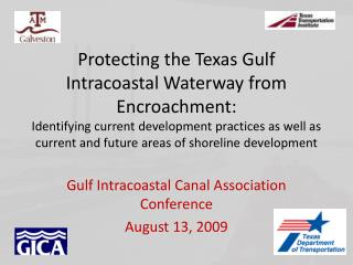 Protecting the Texas Gulf Intracoastal Waterway from Encroachment ...