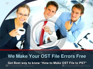 how to make OST file to PST