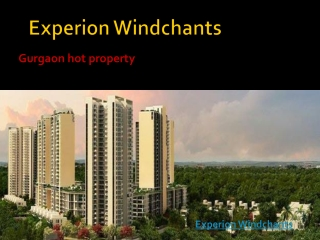 Experion Windchants new project in sector 112 Gurgaon