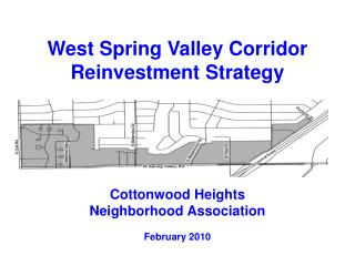 West Spring Valley Corridor Reinvestment Strategy