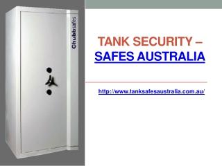 Tank Security Safes Australia