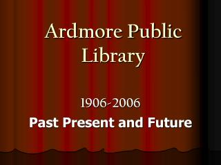 Ardmore Public Library