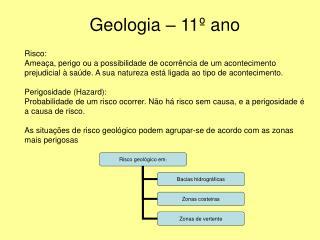 Geologia   11  ano