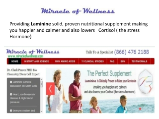 health benefits of laminine