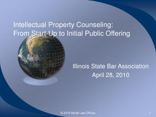 Intellectual Property Counseling: From Start-Up to Initial ...